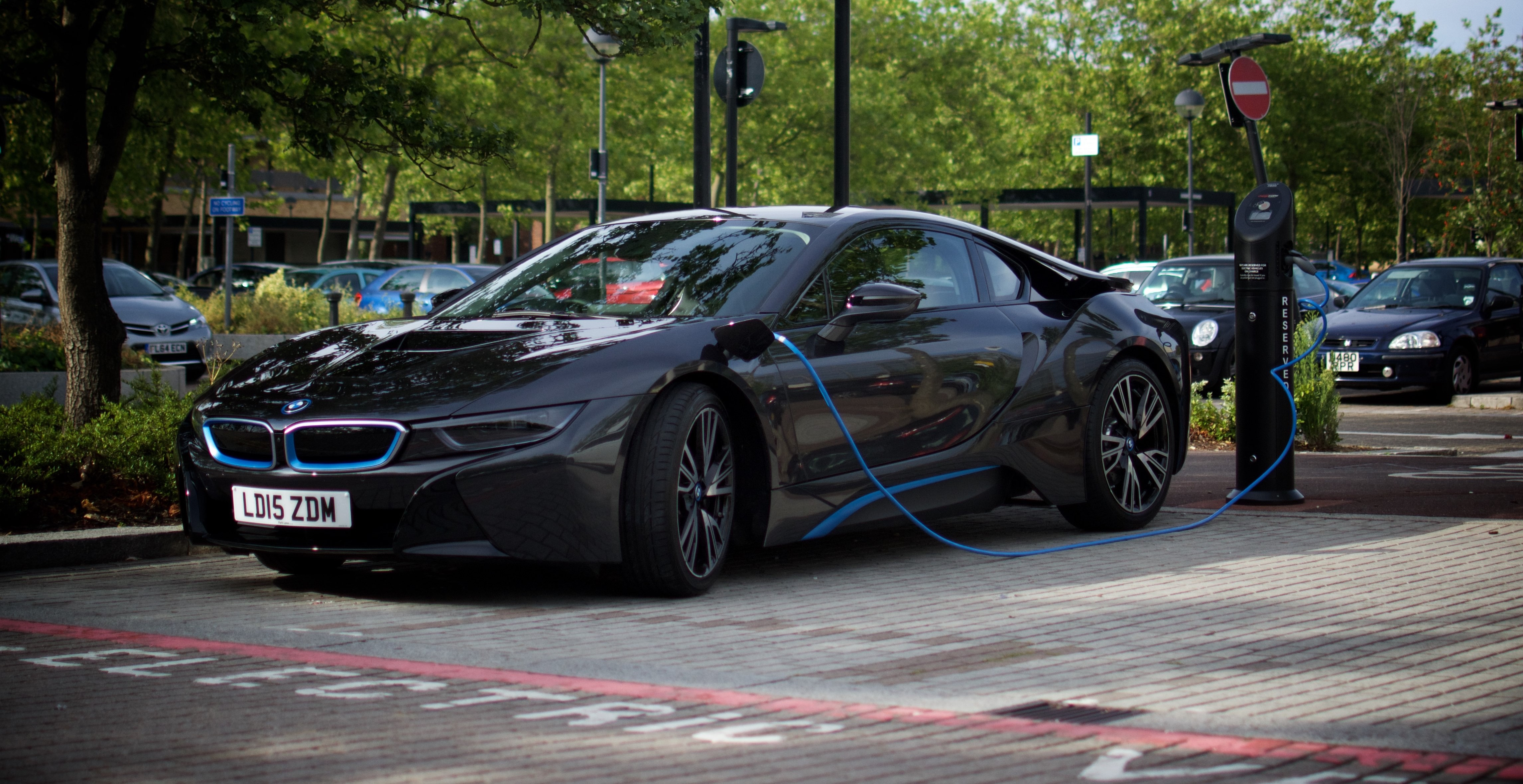 Start 2018 Off In Style With An Amazing Week In The Bmw I8 Ev